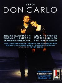 Cover Jonas Kaufmann / Anja Harteros / Thomas Hampson / Matti Salminen / Ekaterina Semenchuk / Erik Halfvarson / Wiener Philharmoniker - Don Carlo - Verdi [DVD]